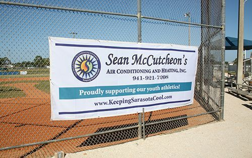 Sean McCutcheon's proudly supporting our youth athletics banner.